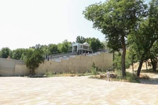 Будущий Греческий парк в Одессе: укреплены склоны, возведена лестница и отливается фонтан (фото)