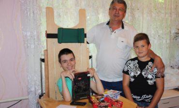 Депутат Одесского областного совета Игнат Братинов оказывает поддержку особенным детям