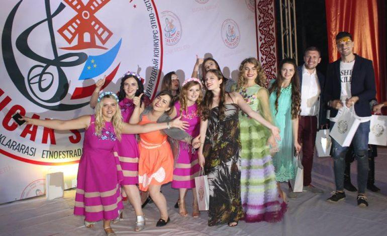 Одесситка Дарья Погребная представила Украину на музыкальном фестивале в Гагаузии
