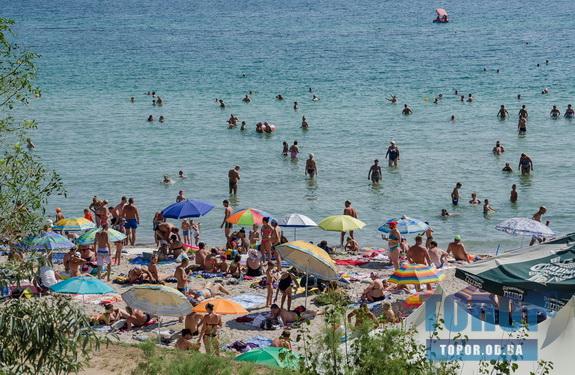 Одесса: морская вода на пяти пляжах города не соответствует санитарным нормам