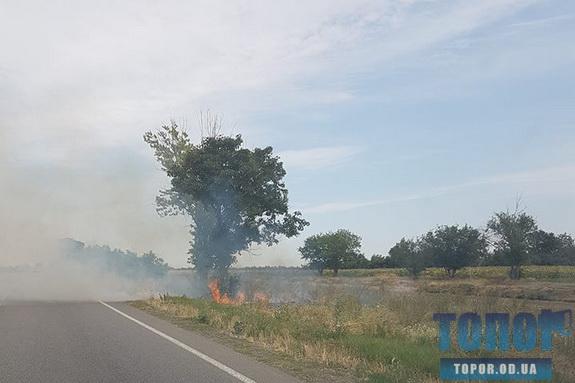 Жителей Одесской области предупреждают об опасности возникновения пожара