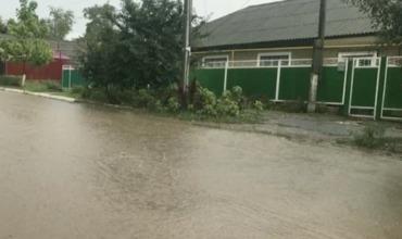 В соседней Гагаузии из-за непогоды затопило несколько населенных пунктов