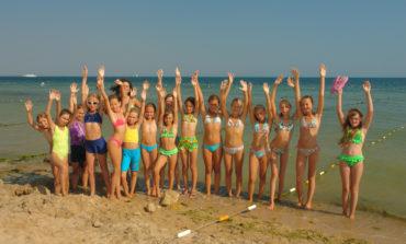 Курорт Сергеевка встретил для отдыха детей из Донецкой области