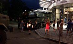 """В Киеве установка """"Бук"""" въехала в офисное здание"""