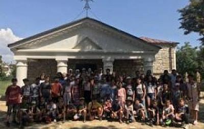 Белгород-Днестровский армянский храм принял первых посетителей