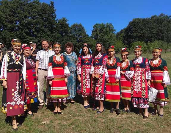 Ансамбль из Криничного покорил болгарских слушателей