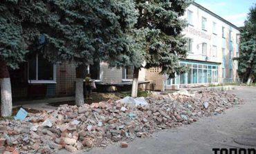 В Болграде начали работы по реконструкции приемного отделения ЦРБ