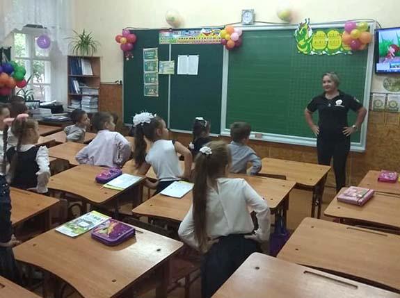 В школах Болграда провели «Уроки с полицейским»