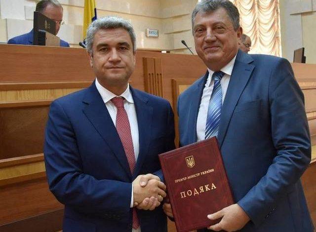 Премьер-министр Украины выразил благодарность одному из депутатов Одесского областного совета