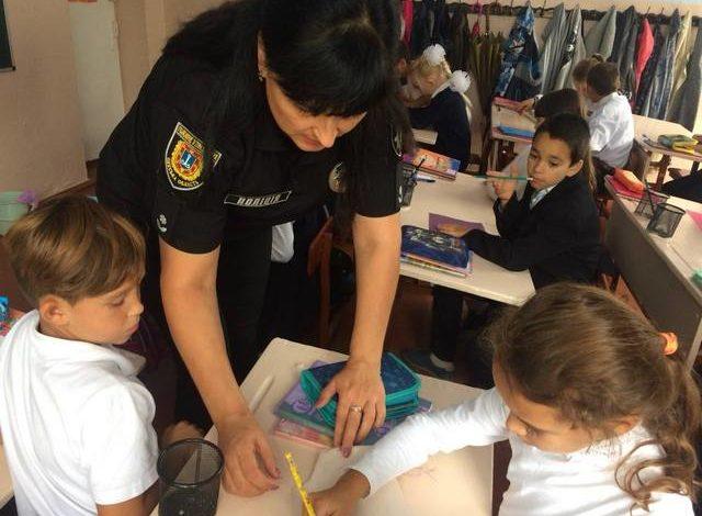 В Арцизской школе №5 прошел «урок с полицейским»
