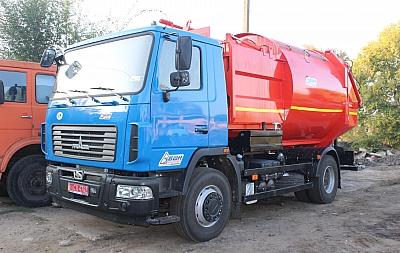 Белгород-Днестровский приобрёл ещё один мусоровоз