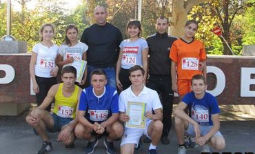 Болградские школьники стали вторыми в области по кроссу
