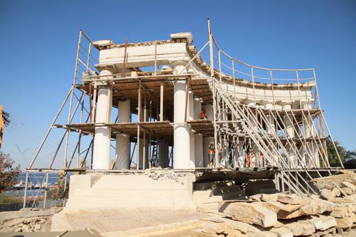 Реставрация Воронцовской колоннады будет завершена в следующем году