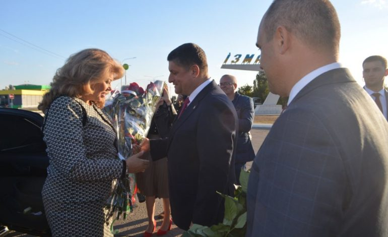 Вице-президент Республики Болгария Илияна Йотова посетила Измаил (ФОТО)