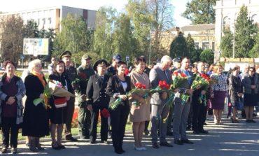 В Измаиле в День защитника Украины прошел торжественный митинг