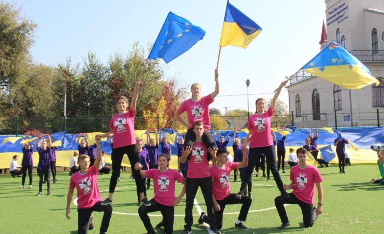 В Арцизе торжественно открыли новый школьный стадион
