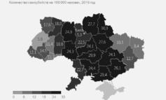 Украина в числе лидеров по количеству самоубийств в Европе