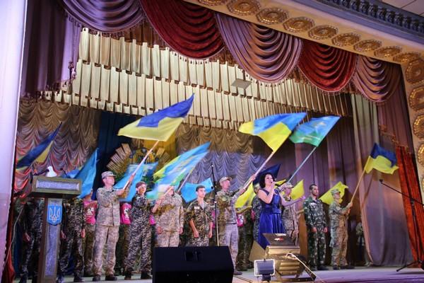 В Арцизе отметили День защитника Украины (фото)