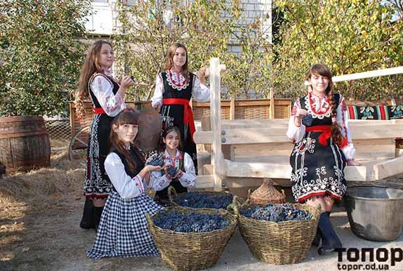 Как в Болграде виноград ногами давили (фоторепортаж)