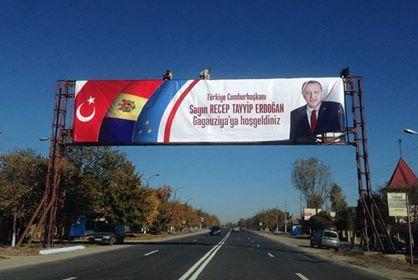 Визит Эрдогана в Молдову: в Гагаузии усилены меры безопасности