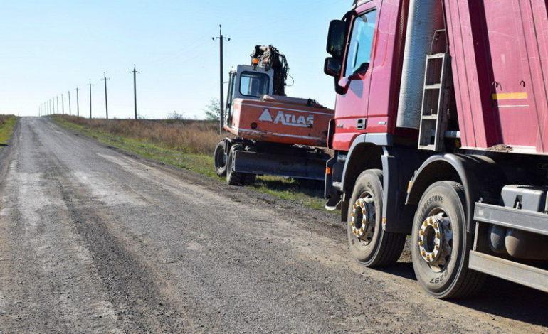 В Одесской области взялись за обустройство проезда между сёлами Тарутинского района