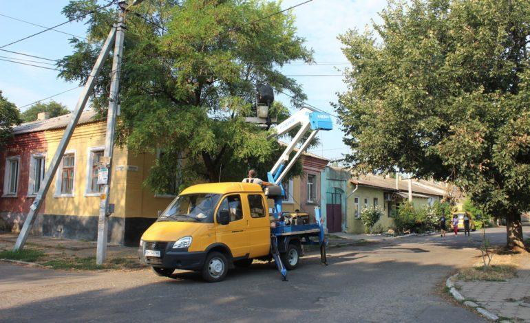 В Белгороде-Днестровском проведут массовый ремонт уличного освещения