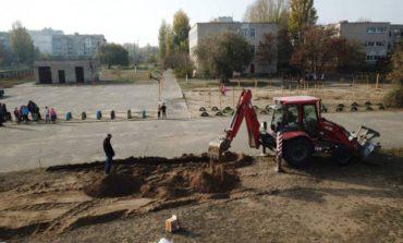 В Белгороде-Днестровском строят новый современный спорткомплекс
