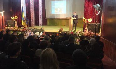 Народный депутат Украины Антон Киссе отчитался перед своими избирателями