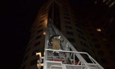 В Одессе горел 17-этажный жилой дом: среди пострадавших двое детей