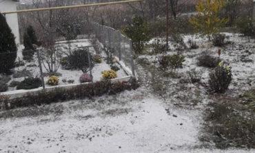 С первым снегом: в Одесскую область уже пришла зима