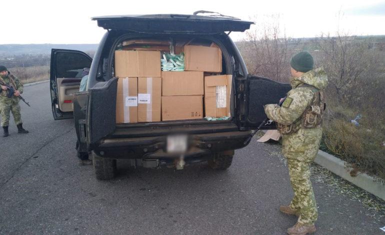В Одесской области обнаружили внедорожник с контрабандой на 2,5 млн гривен
