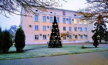 В Белгороде-Днестровском установили главную ёлку города