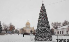 В Болград пришла зима (ФОТО)