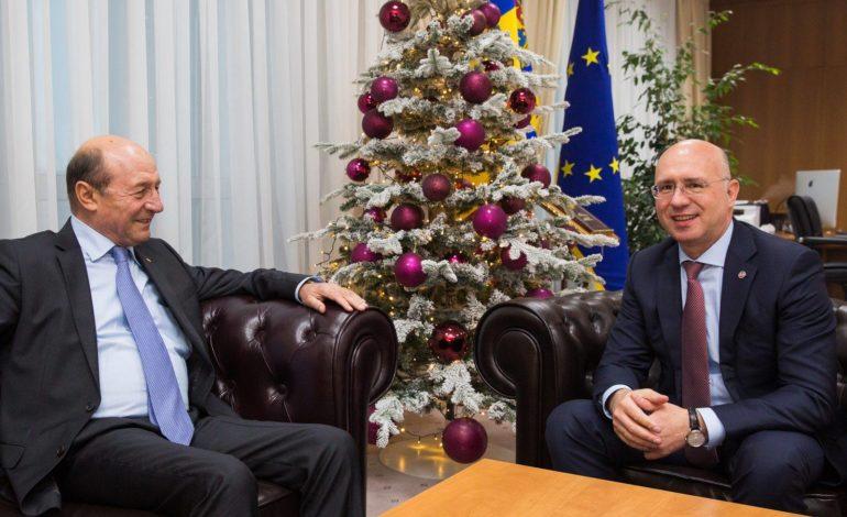 Премьер Молдовы и экс-президент Румынии обсудили возможную «унирю»