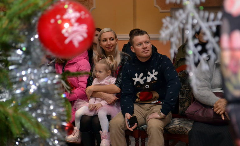 В Одессе детей болгарской диаспоры Украины поздравили с новогодними праздниками (фото)
