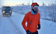 Ради больного ребенка молдавский бизнесмен пробежал 50 километров на «Полюсе холода»