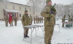 В Болграде военным вручили оружие (фото)