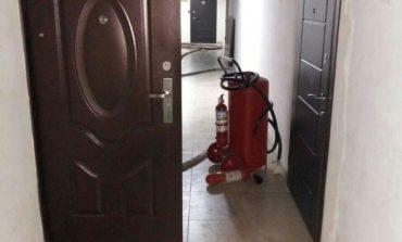 В Одессе тушили пожар в бизнес-центре