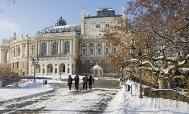 20 фотографий снежной Одессы (фоторепортаж)