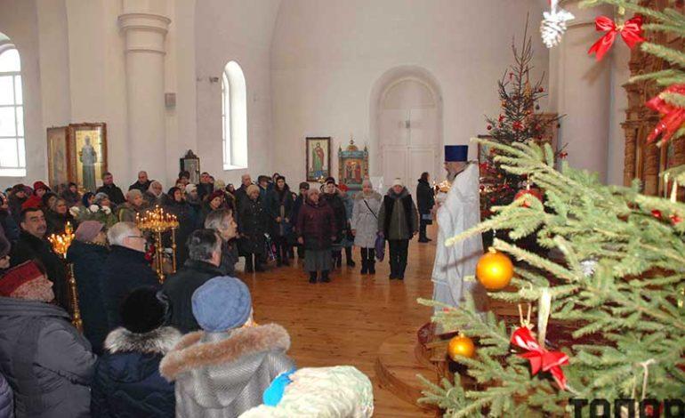 Болградцы отметили Крещение Господне