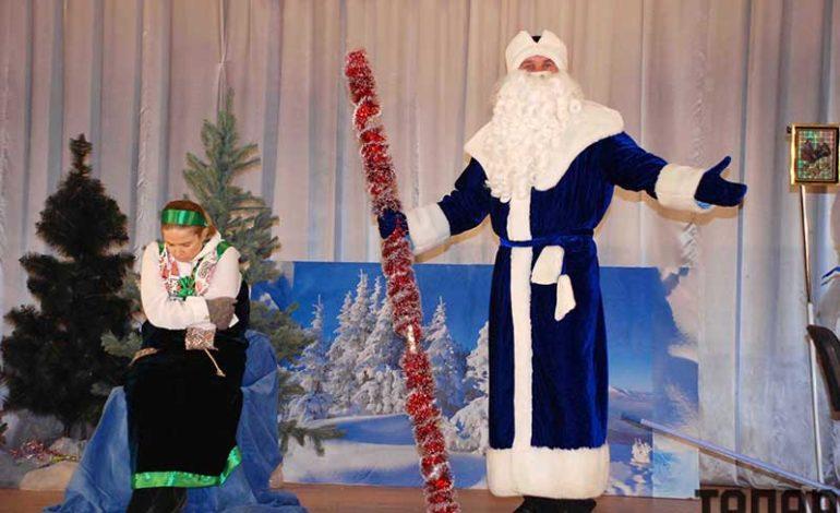 Новогодняя сказка в Болграде (фоторепортаж)
