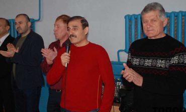 В Городнем Антон Киссе поздравил юных борцов