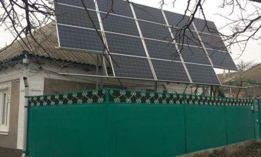 В Болграде набирают популярность частные солнечные электростанции