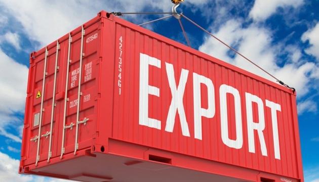Экспорт товаров из Украины в январе сократился