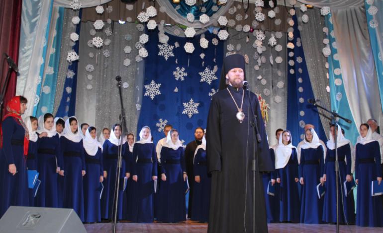 На главной сцене Измаила прошёл грандиозный концерт «Торжество Рождества»