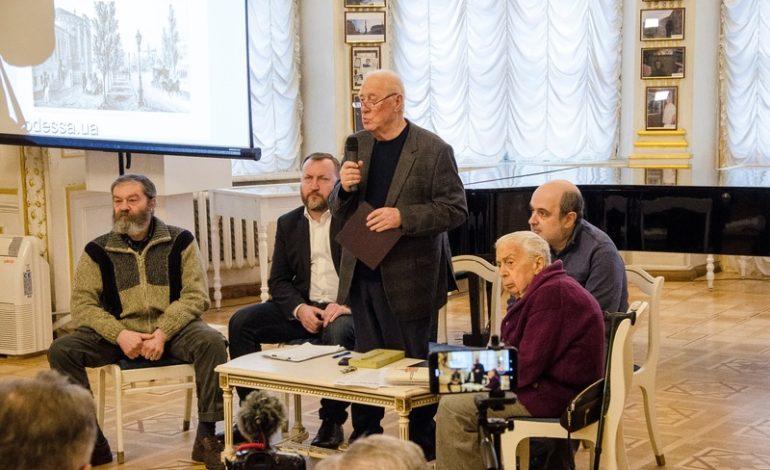 Дерибасовская угол Ришельевской: в Одессе презентовали книгу об одной улице