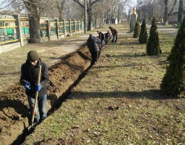 Парки Белгорода-Днестровского готовят к весне