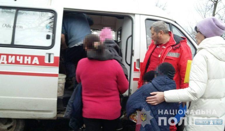 В Подольском районе госпитализированы трое детей из кризисных семей
