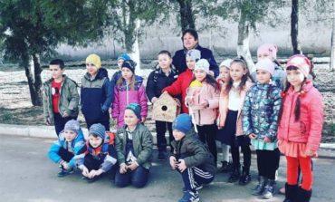 Болградские школьники встречали птиц