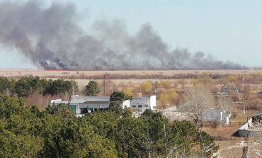 В Килийском районе тушили масштабный пожар на 50 га